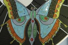 detail  big platter, Madoda Fani, Potters Workshop, 2009