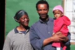 The Potters Workshop, ceramist and family, Muizenberg, South Africa