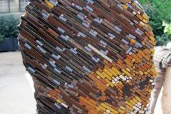 Art Work seen at Maboneng, Arts on Main, Johannesburg, iZArte Kunstreizen