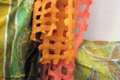 Vilten shawl, Ronel Jordaan, verkocht bij Galerie iZArte
