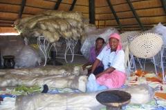 making of The Zulu Mama Chair, Mogalakwena, Limpopo, 2005