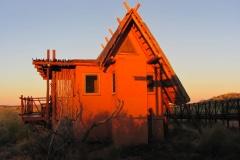 Kalahari National Park, !Xaus Lodge, Zuid-Afrika