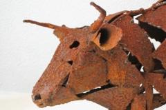 Scrap Metal Cow, Design Afrika, Kaapstad