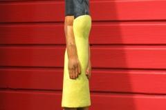 Modern Maria, Collen Maswanganyi, Coile Wood, 57x13x12cm