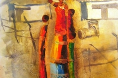 Ndabuko Thuli, painting, Kaapstad, Zuid-Afrika
