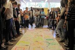 workshop door Rolihlahla Mhlanga, aan klas van  het Ulenhof College Doetinchem 2012