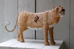 Luipaard, Wild at Art, beadwork, African Allsorts, Kaapstad, Zuid-Afrika