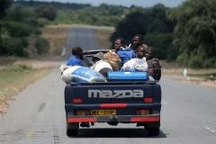 On the road, South Africa, Zimbabwe, iZArte Art Tours