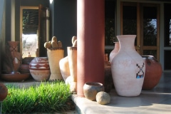 Afrikania, ceramic pots and bowls and others, Phalaborwa, South Africa