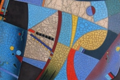 Porcupine Ceramics, Art Plate, Raku Keramiek, Plettejburg, Zuid-Afrika