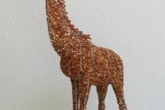 Giraffe, Wild at Art, beadwork, African Allsorts, Kaapstad, Zuid-Afrika