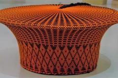Khumbulani, Zulu Head, Embroidery, Johannesburg, Zuid-Afrika
