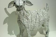 Goat, beadwork, Streetwires, Kaapstad, Zuid-Afrika