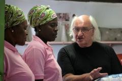 storyteling, embroidery panels, Mogalakwena Art Craft Centre, Limpopo, Zuid-Afrika, 2018, foto Sara Rebergen