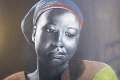 Sello Malebye, colour pencil, Ga-Rankuwa, Zuid-Afrika